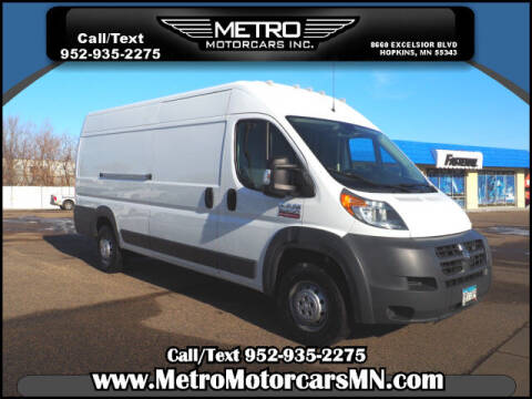 2015 RAM ProMaster Cargo for sale at Metro Motorcars Inc in Hopkins MN
