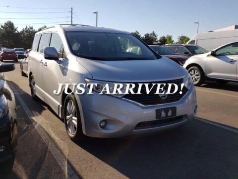 2012 Nissan Quest for sale at EMPIRE LAKEWOOD NISSAN in Lakewood CO