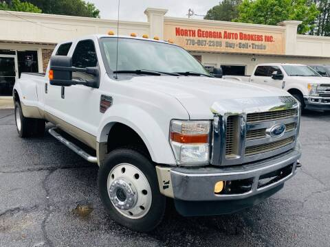 2009 Ford F-450 Super Duty for sale at North Georgia Auto Brokers in Snellville GA