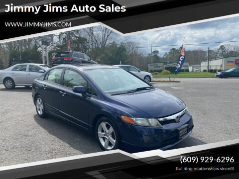 2006 Honda Civic for sale at Jimmy Jims Auto Sales in Tabernacle NJ