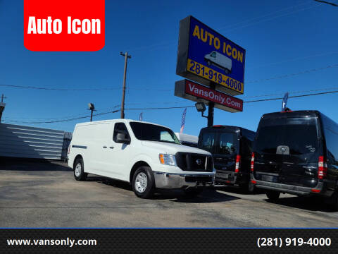 2017 Nissan NV Cargo for sale at Auto Icon in Houston TX