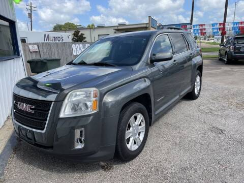 2013 GMC Terrain for sale at AMERICAN AUTO COMPANY in Beaumont TX