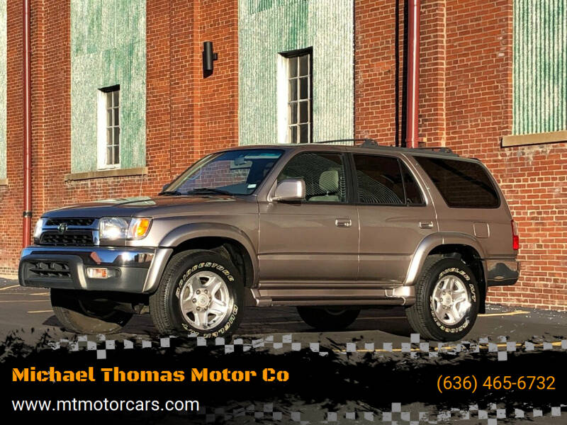 2002 Toyota 4Runner for sale at Michael Thomas Motor Co in Saint Charles MO