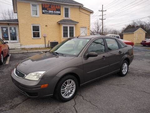 2005 Ford Focus for sale at Top Gear Motors in Winchester VA