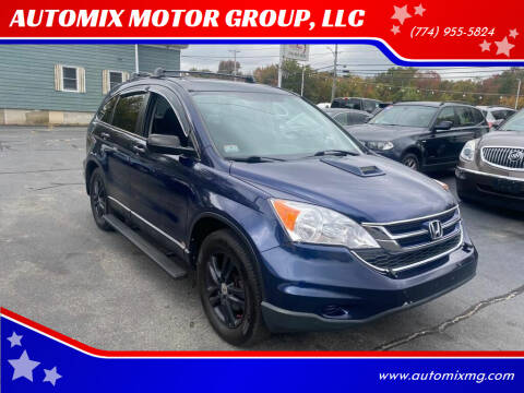 2010 Honda CR-V for sale at AUTOMIX MOTOR GROUP, LLC in Swansea MA