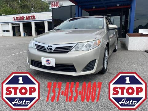 2014 Toyota Camry for sale at 1 Stop Auto in Norfolk VA