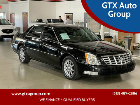 2010 Cadillac DTS for sale at GTX Auto Group in West Chester OH