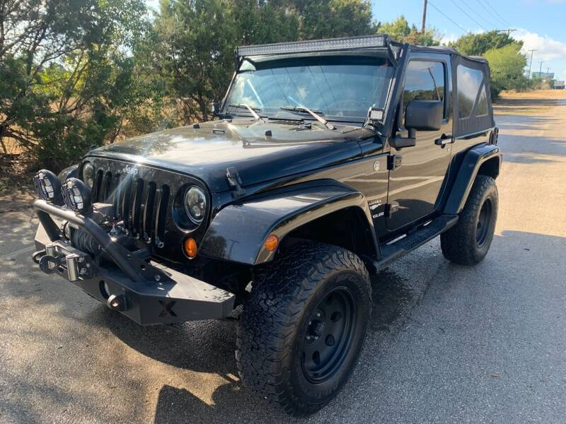 2007 Jeep Wrangler for sale at TROPHY MOTORS in New Braunfels TX