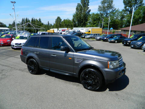 2006 Land Rover Range Rover Sport for sale at J & R Motorsports in Lynnwood WA