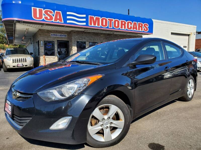 2013 Hyundai Elantra for sale at USA Motorcars in Cleveland OH
