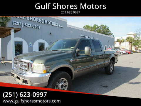 2004 Ford F-250 Super Duty for sale at Gulf Shores Motors in Gulf Shores AL