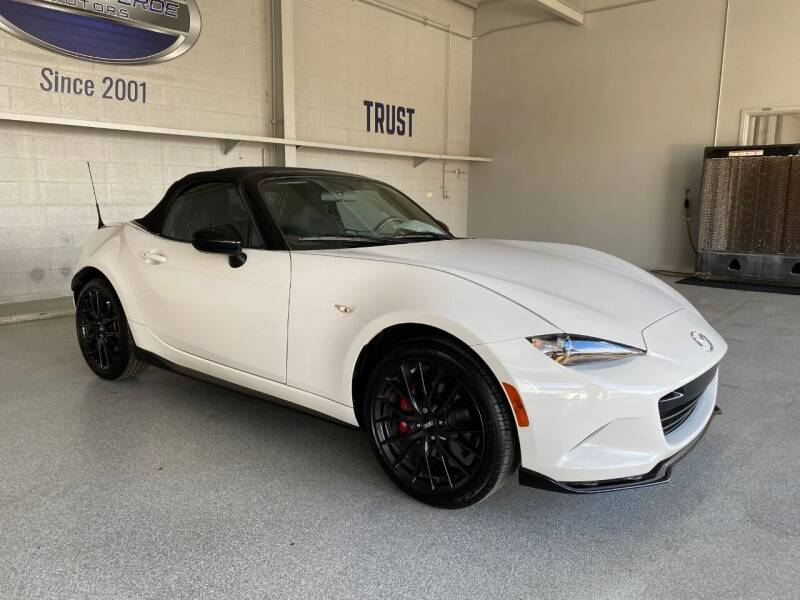2016 Mazda MX-5 Miata for sale at TANQUE VERDE MOTORS in Tucson AZ