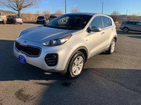 2017 Kia Sportage for sale at Steve Johnson Auto World in West Jefferson NC