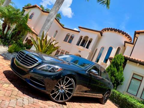 2014 Mercedes-Benz S-Class for sale at Mirabella Motors in Tampa FL