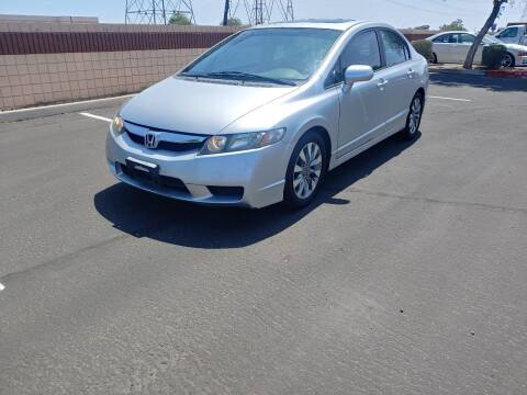 2009 Honda Civic for sale at Sooner Automotive Sales & Service LLC in Peoria AZ