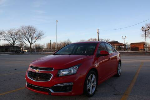 2016 Chevrolet Cruze Limited for sale at A-Auto Luxury Motorsports in Milwaukee WI