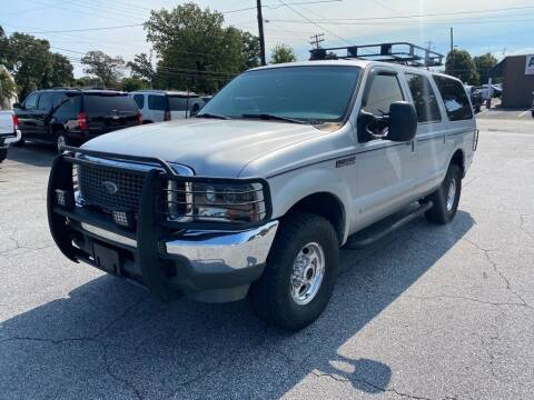 2000 Ford Excursion for sale at Brewster Used Cars in Anderson SC