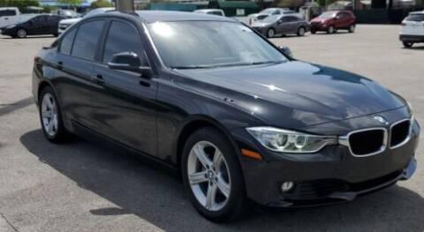 2014 BMW 3 Series for sale at Navarro Auto Motors in Hialeah FL
