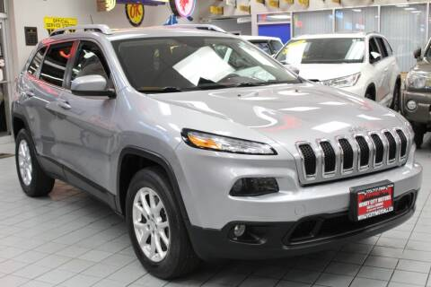 2015 Jeep Cherokee for sale at Windy City Motors in Chicago IL