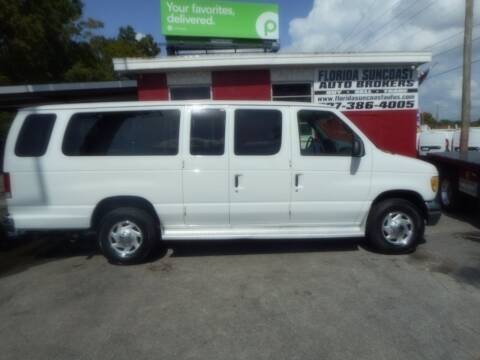 2001 Ford E-Series Wagon for sale at Florida Suncoast Auto Brokers in Palm Harbor FL