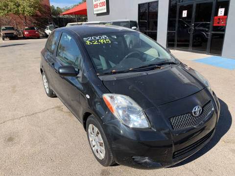 2008 Toyota Yaris for sale at Legend Auto Sales in El Paso TX