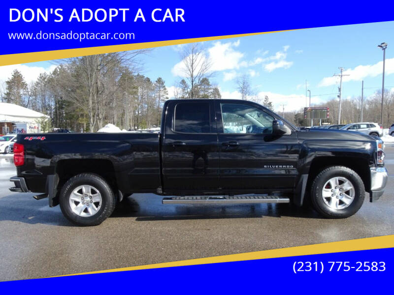 2016 Chevrolet Silverado 1500 for sale at DON'S ADOPT A CAR in Cadillac MI
