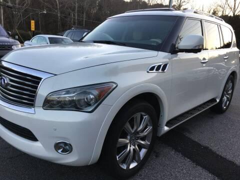 2012 Infiniti QX56 for sale at Highlands Luxury Cars, Inc. in Marietta GA