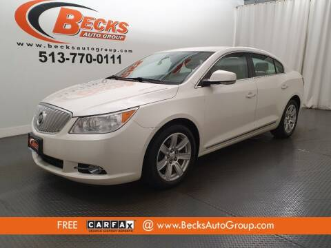 2010 Buick LaCrosse for sale at Becks Auto Group in Mason OH