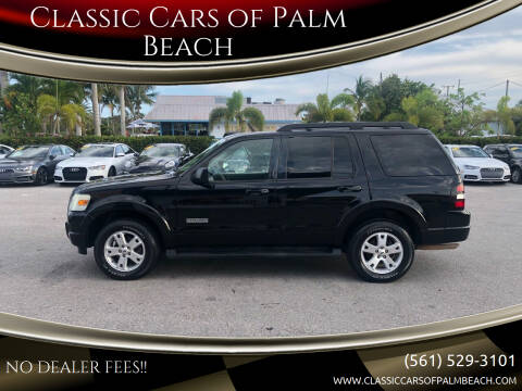 2007 Ford Explorer for sale at Classic Cars of Palm Beach in Jupiter FL
