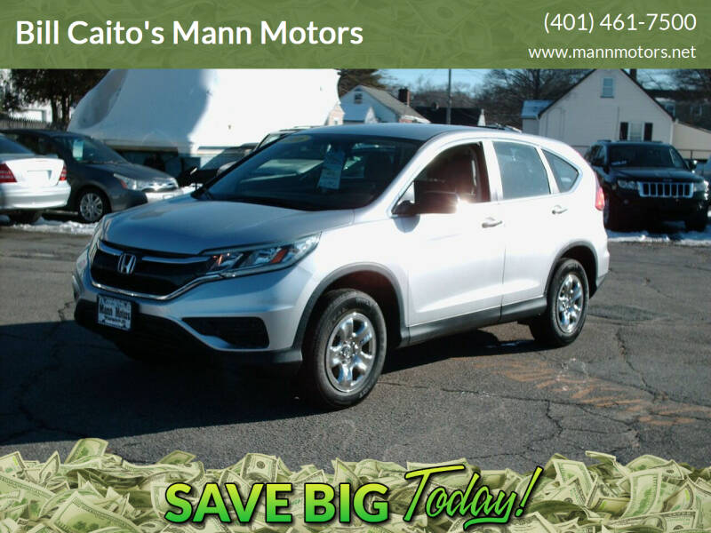 2016 Honda CR-V for sale at Bill Caito's Mann Motors in Warwick RI