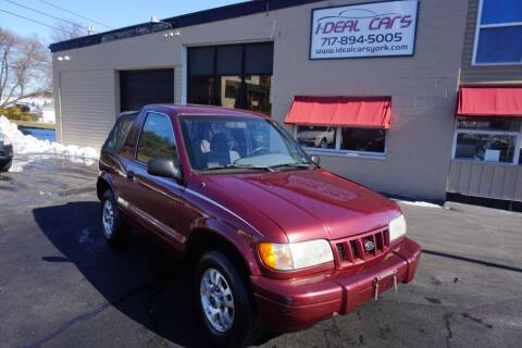 2002 Kia Sportage for sale at I-Deal Cars LLC in York PA