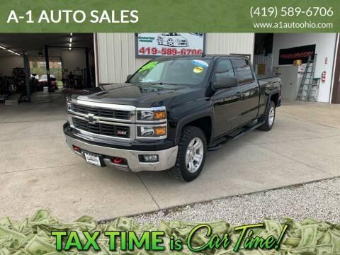 2014 Chevrolet Silverado 1500 for sale at A-1 AUTO SALES in Mansfield OH