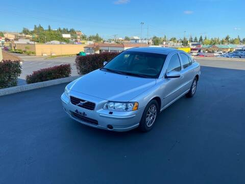 2005 Volvo S60 for sale at Q Motors in Lakewood WA