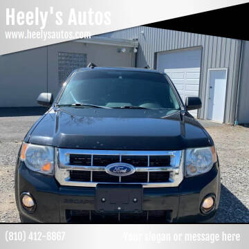 2011 Ford Escape for sale at Heely's Autos in Lexington MI