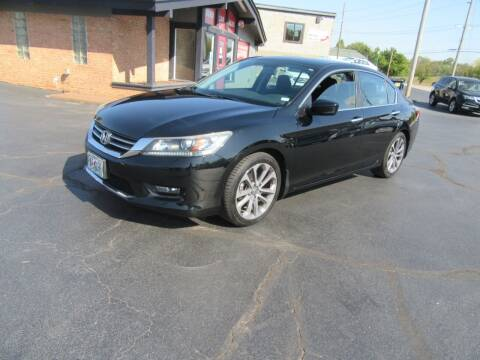 2014 Honda Accord for sale at Riverside Motor Company in Fenton MO