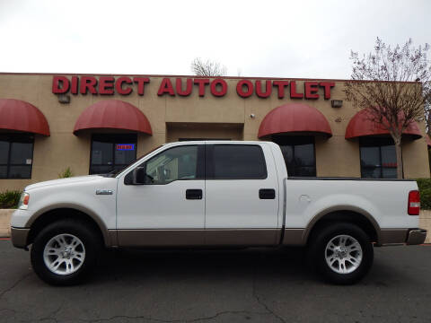 2004 Ford F-150 for sale at Direct Auto Outlet LLC in Fair Oaks CA