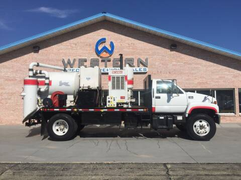 1999 GMC Vac Truck for sale at Western Specialty Vehicle Sales in Braidwood IL