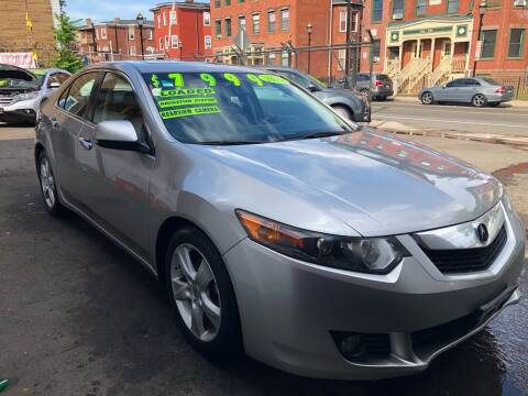 2010 Acura TSX for sale at James Motor Cars in Hartford CT