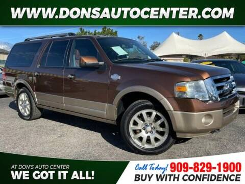 2011 Ford Expedition EL for sale at Dons Auto Center in Fontana CA