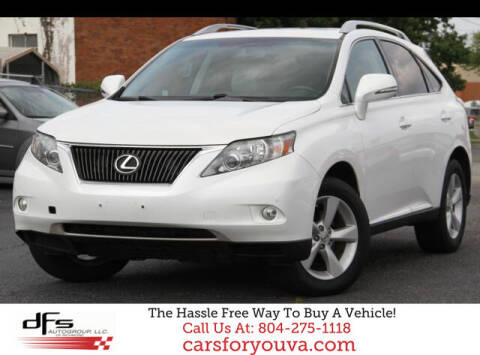2012 Lexus RX 350 for sale at DFS Auto Group of Richmond in Richmond VA