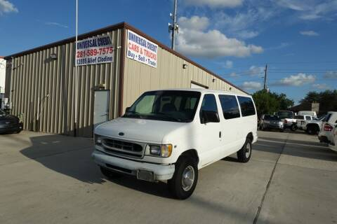 1998 Ford E-350 for sale at Universal Credit in Houston TX