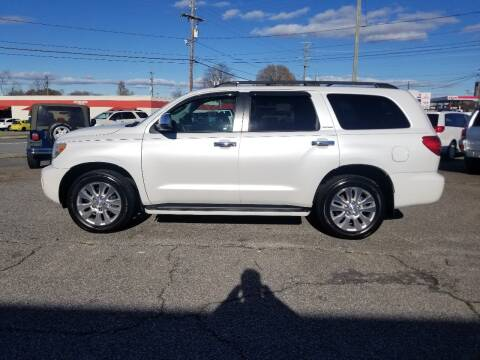 2008 Toyota Sequoia for sale at 4M Auto Sales | 828-327-6688 | 4Mautos.com in Hickory NC