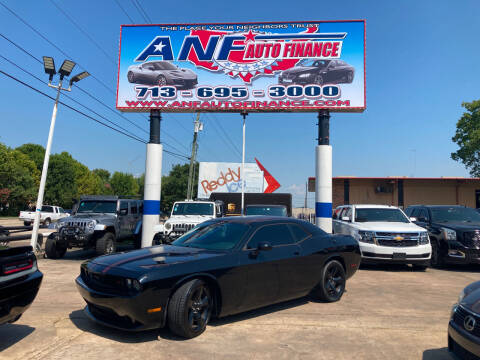 2013 Dodge Challenger for sale at ANF AUTO FINANCE in Houston TX
