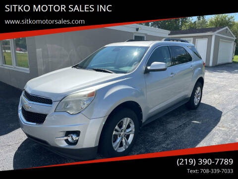 2012 Chevrolet Equinox for sale at SITKO MOTOR SALES INC in Cedar Lake IN
