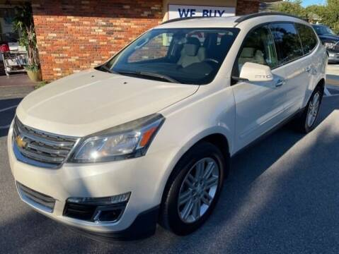 2014 Chevrolet Traverse for sale at Gulf Financial Solutions Inc DBA GFS Autos in Panama City Beach FL