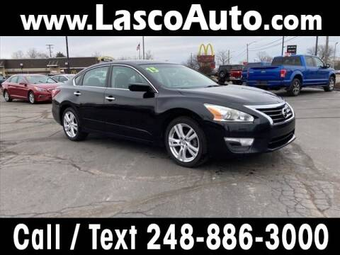2013 Nissan Altima for sale at Lasco of Waterford in Waterford MI