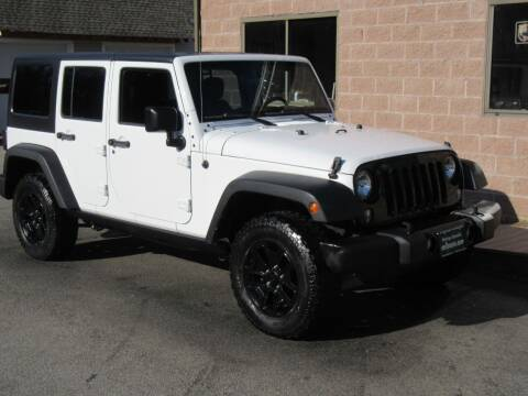 2017 Jeep Wrangler Unlimited for sale at Advantage Automobile Investments, Inc in Littleton MA