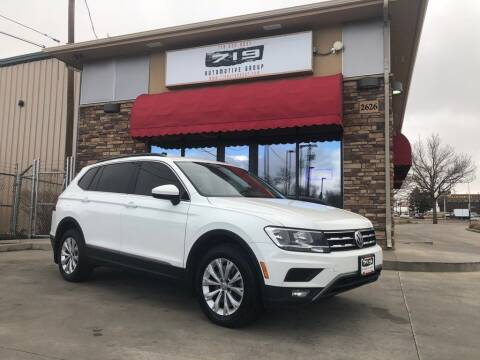2018 Volkswagen Tiguan for sale at 719 Automotive Group in Colorado Springs CO