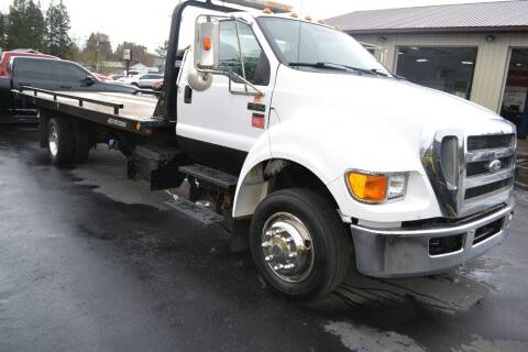 2011 Ford F-650 Super Duty for sale at Nick's Motor Sales LLC in Kalkaska MI