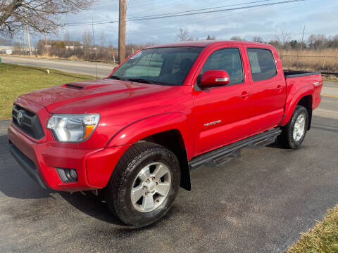 2015 Toyota Tacoma for sale at SIMPSON MOTORS in Youngstown OH